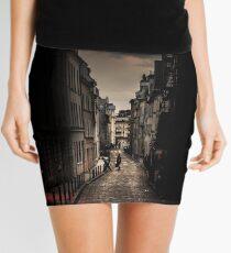 Red cloud in Paris (France) Mini Skirt