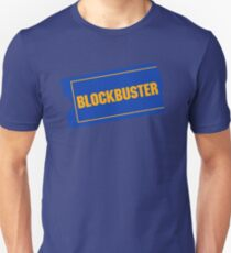 Blockbuster Retro Logo Unisex T-Shirt