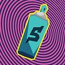 Jet Set Radio 5-can spray by take-a-byte