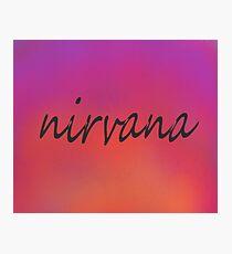 nirvana - perfect paradise Photographic Print