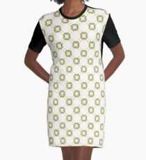 minimal party colorful happy celebration seamless repeat pattern Graphic T-Shirt Dress