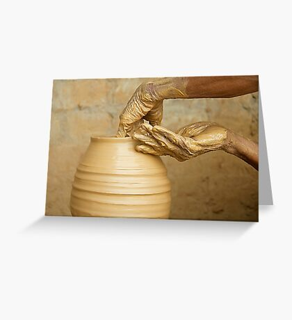 Earthen Pottery#9 Greeting Card