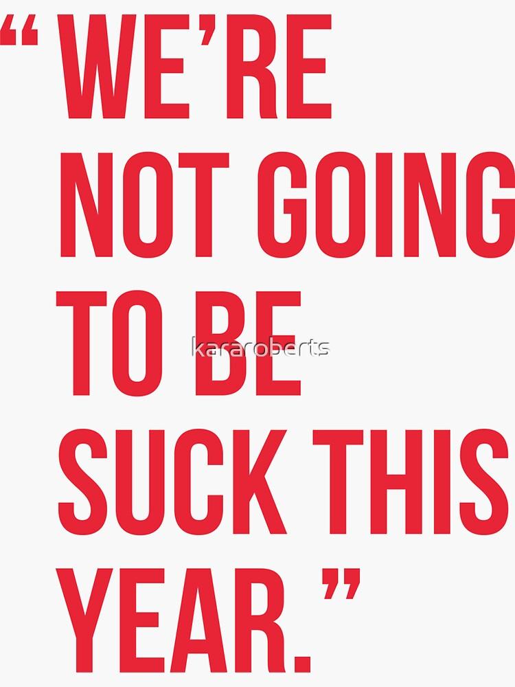 Alex Ovechkin Washington Capitals Quote No vamos a ser apestosos este año de kararoberts
