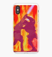 Anakin and Obi-Wan's Duel iPhone Case