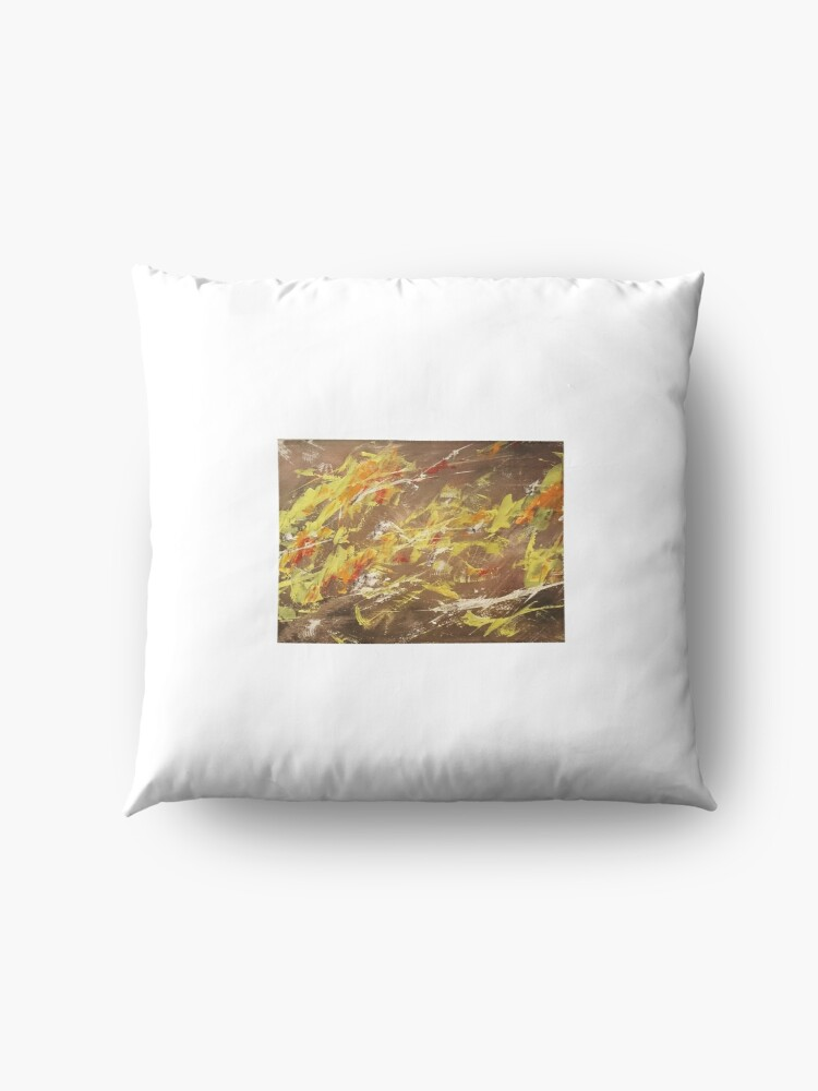 Alternate view of Modern Art Floor Pillow