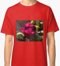 Backlit Red Tulip Classic T-Shirt