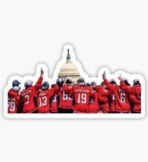 Washington Capitals Stanley Cup Championship Parade Photo Sticker Sticker