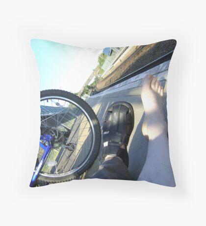 mobility Throw Pillow