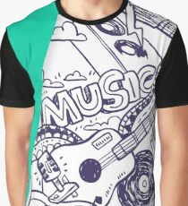 MUSIC FESTIVAL Graphic T-Shirt