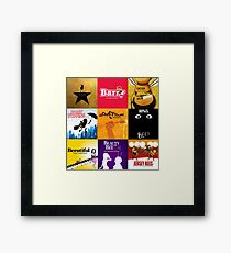 Bee Movie as Broadway Musicals Framed Print