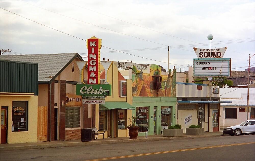 Route 66 - Kingman, Arizona by Frank Romeo