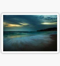 Mornington Peninsula - Sorrento back beach sunset Sticker