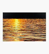 Sunset water Photographic Print