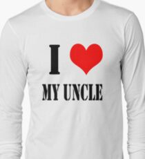 Design love uncle Long Sleeve T-Shirt