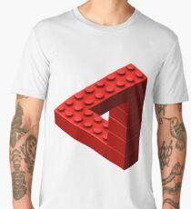 Escher Toy Bricks - Red Men's Premium T-Shirt