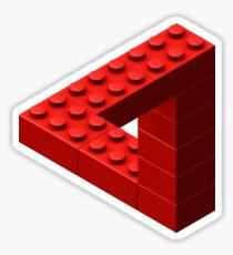 Escher Toy Bricks - Red Sticker
