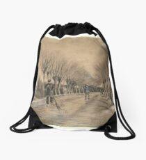 Road in Etten Drawstring Bag