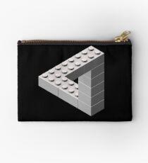 Escher Toy Bricks - White Studio Pouch