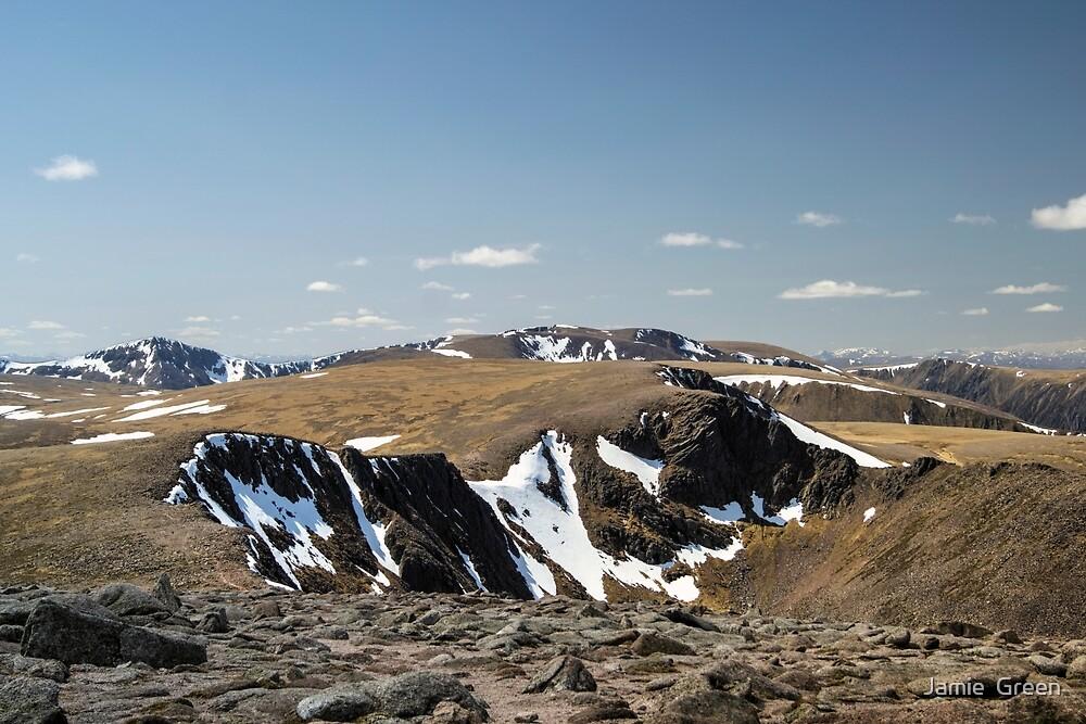 Cairngorm Summit Views by Jamie  Green