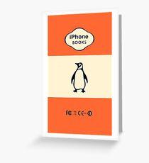 penguin classic Greeting Card