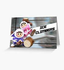 Super Smash Bros Ultimate - Ice Climers Posters Greeting Card