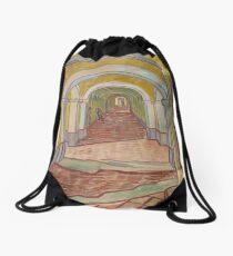 Corridor in the Asylum Drawstring Bag