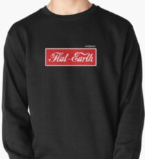 Flat Earth Coke parody logo Pullover