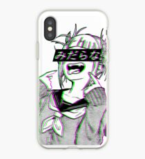 LEWD - Sad Japanese Anime Aesthetic iPhone Case