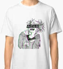 LEWD - Sad Japanese Anime Aesthetic Classic T-Shirt