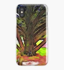 The Tree with the Open Arms iPhone Case