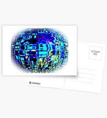 digitally created IX...!  Postcards