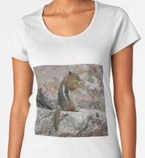Open Wide, Mr. Chipmunk! Women's Premium T-Shirt