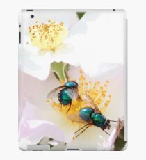 Two green bottles iPad Case/Skin