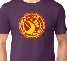 Dudeist Hitchhiker 2  Unisex T-Shirt