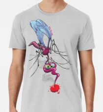 Mosquito Sucking Blood Premium T-Shirt