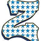 Letter Z - stars by paintcave
