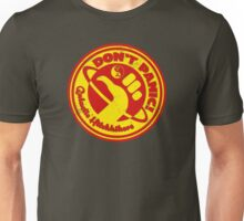Dudeist Hitchhiker 2 Spaceworn Unisex T-Shirt