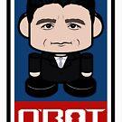 Speaker P.D. Politico'bot Toy Robot 2.0 by Carbon-Fibre Media