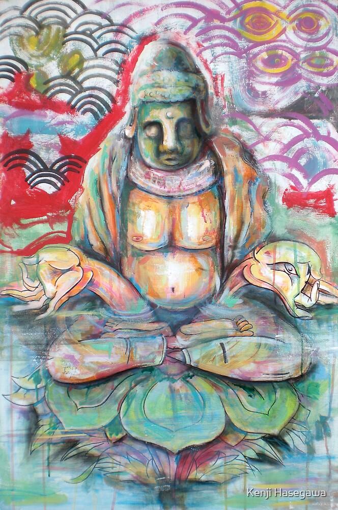 Submerged Buddha by Kenji Hasegawa