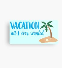 vacation... Metal Print