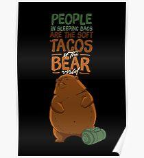 Bear Tacos Poster