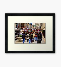 Impressions of Michigan Avenue Framed Print