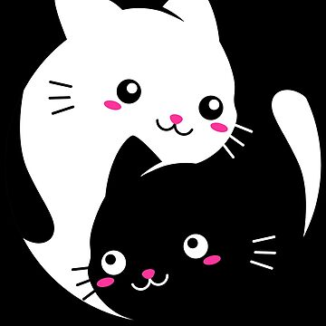 Yin Yang Kitty Cat by VomHaus