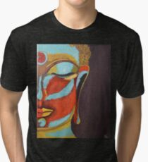 A Buddha Mind Tri-blend T-Shirt