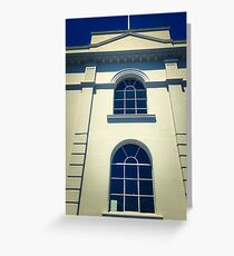 Arch Windows Architecture Greeting Card