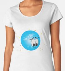It's Ok Pluto I'm Not A Planet Either Women's Premium T-Shirt