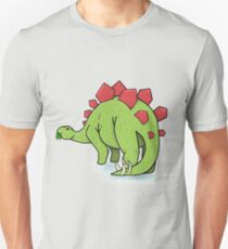 Dinosaur Illustration Unisex T-Shirt