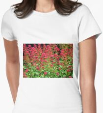 Red Valerian Women's Fitted T-Shirt