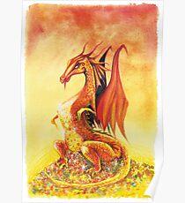 Smaug the Dragon Poster