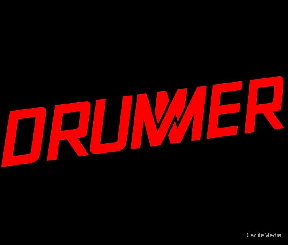 DRUMMER Logo by CarlileMedia